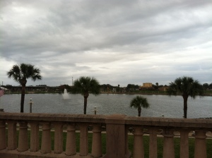 It was overcast much of the time we were there, but Florida in January was still pretty spectacular.