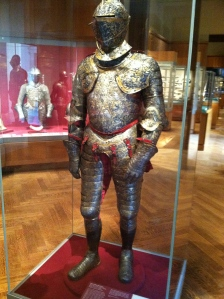 And then we went to The Met. And saw this badass armor.