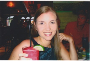 One of my first legally-purchased adult beverages. A margarita at Margaritaville in Key West. Booyah.
